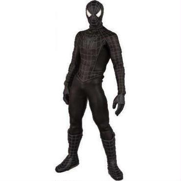 スパイダーマン Spider-Man メディコム Medicom Toys フィギュア 3 Real Action Heroes Black Costume 12 Inch