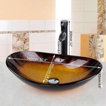 洗面ボウル 蛇口セット アンティーク ヨーロッパ風 YANKSMART 飲食店 ホテル 洗面台 手洗いボウル DIYにも