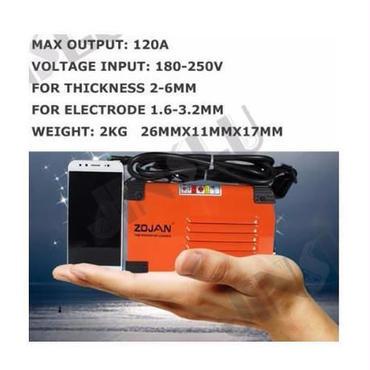 ミニ 溶接機 インバーター アーク溶接機 スティック溶接機 120a 180-250ボルト コンパクト