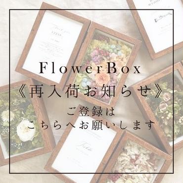 FlowerBox《再入荷お知らせ》通知ご登録用ページ