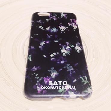 スミレの花iPhone ケース/クリア/5.5S.SE.6.6S
