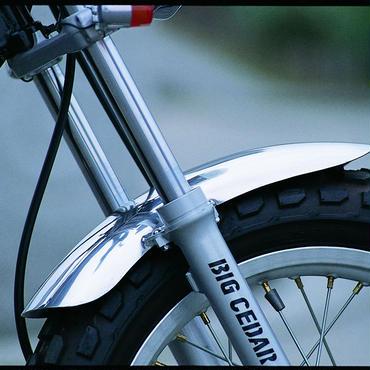 アルミフロントフェンダーショート 品番B002103