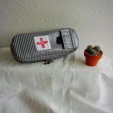 ひょっこりエピペン用ポーチラミネート生地【1本両開きタイプ