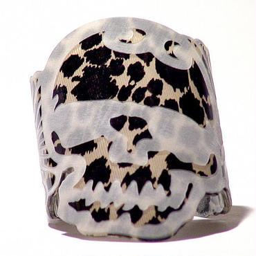 Kiku -Skull Brown Leopard