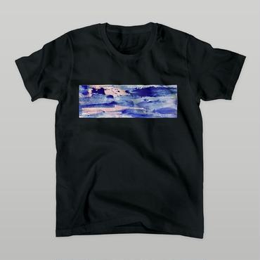 「在」Tシャツ / black