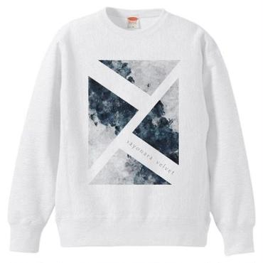「思案の海に」スウェット / white
