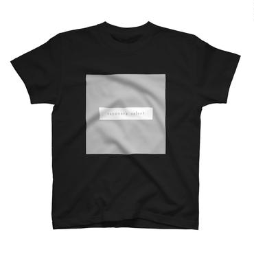 「スクエア」Tシャツ / 006 (black)
