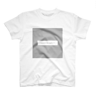「スクエア」Tシャツ / 004 (white)