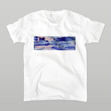 「在」Tシャツ / white