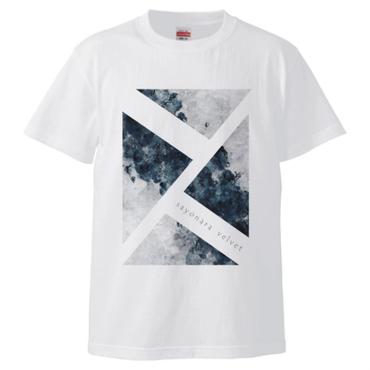 「思案の海に」Tシャツ / white