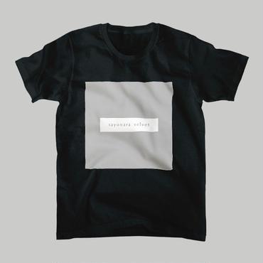 「スクエア」Tシャツ / black