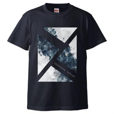 「思案の海に」Tシャツ / navy