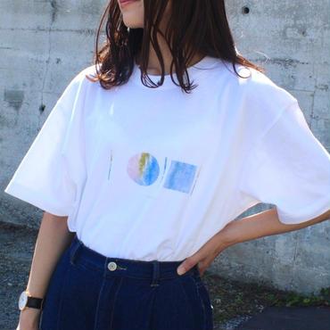 「AWAI KO I」Tシャツ / 001 (white)