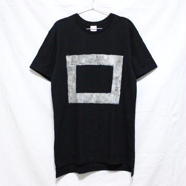 「□ - 001」Tシャツ / black