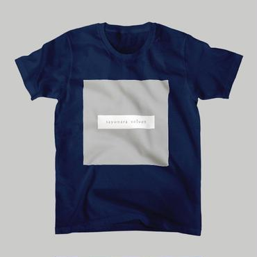 「スクエア」Tシャツ / navy
