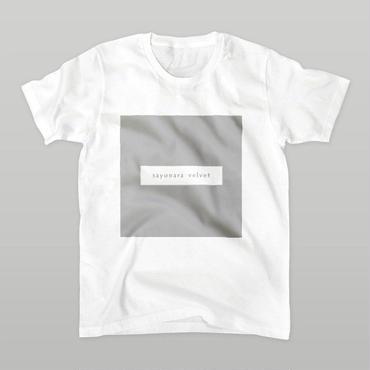 「スクエア」Tシャツ / white