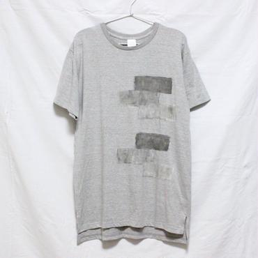 「□ - 002」Tシャツ / gray