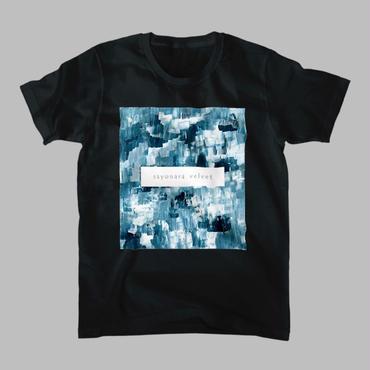「巡る」Tシャツ / 緑 (black)