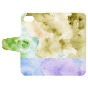 「夢ごこち」手帳型iPhoneケース / 002