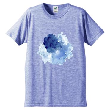 「ゆらぎ」Tシャツ / blue