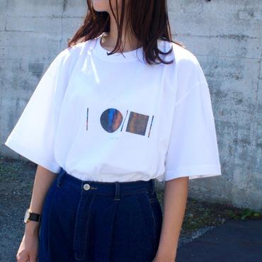 「AWAI KO I」Tシャツ / 004 (white)