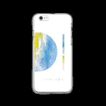 「AWAI KO I」クリアiPhoneケース / 012