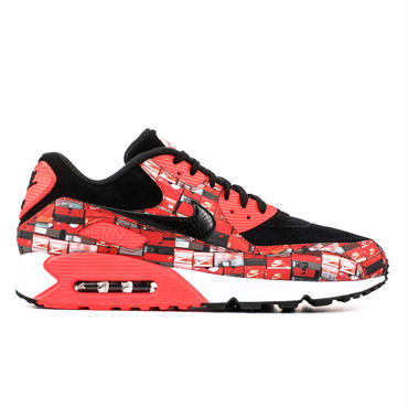 NIKE AIR MAX 90 PRINT / BLACK_RED