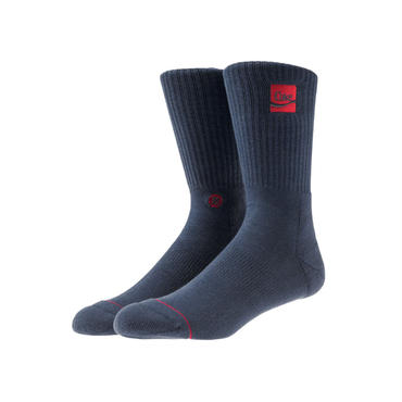 Kith x Coca-Cola x Stance Crew Sock / NAVY_RED