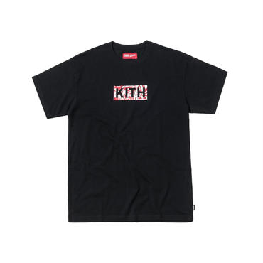 Kith x Coca-Cola Cubed Colors Logo Tee / BLACK