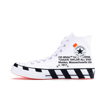 Converse × Off-White Chuck Taylor All-Star 70s Hi / WHITE