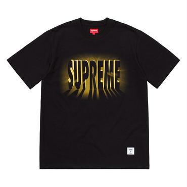 SUPREME  LIGHT SS TOPS / BLACK