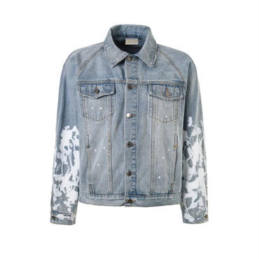 dsrcv SPLATTER DENIM JACKET