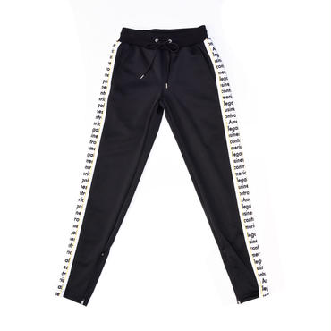 ILLEGAL JERSY PANTS / BLACK