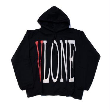 VLONE   LOGO HOODIE / BLACK