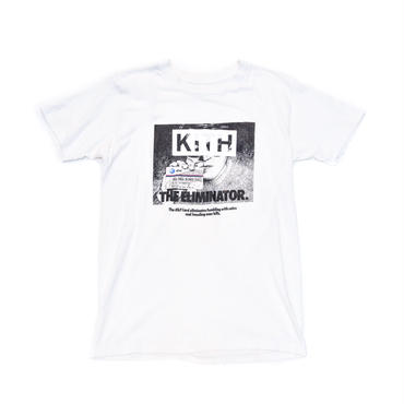 KITH VINTAGE LOGO T-SHIRT / THE ELIMINATOR / WHITE