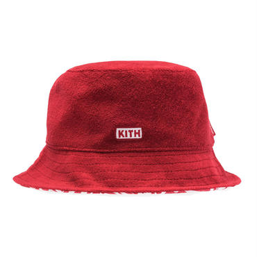 Kith  x  Coca-Cola Terry Cloth Bucket /  RED