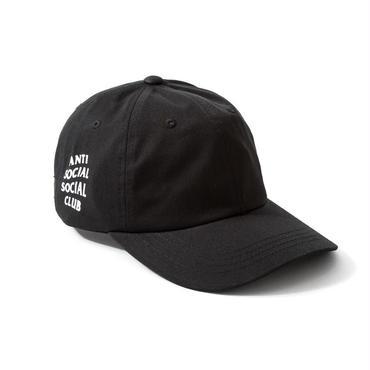 ANTI SOCIAL SOCIAL CLUB WEIRD CAP / BLACK