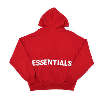 FOG  Essentials Graphic Pullover Hoodie / RED