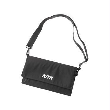 KITH  × MAKAVELIC SACOCHE BAG / BLACK