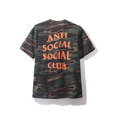 ANTI SOCIAL SOCIAL CLUB GREEN GHOST CAMO TEE / GREEN CAMO