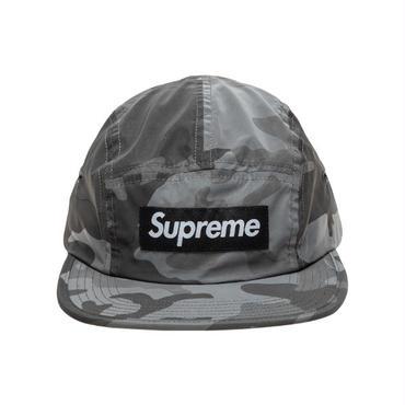 SUPREME  REFLECTIVE CAMO CAMP CAP / SNOW