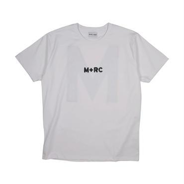 "M+RC NOIR  BIG""M"" TEE / WHITE / マルシェノア / Tシャツ"