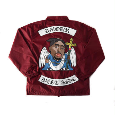WEST PACK JACKET / BURGUNDY
