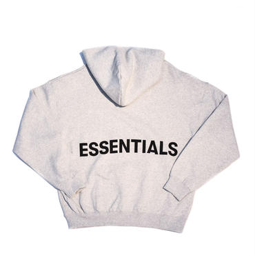 FOG  Essentials Graphic Pullover Hoodie / HEATHER GRAY