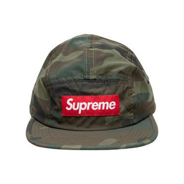 SUPREME  REFLECTIVE CAMO CAMP CAP / GREEN