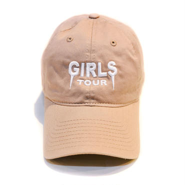 GIRLS TOUR CAP / NUDE