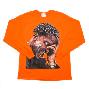 LS TEE LA FLAME / ORANGE