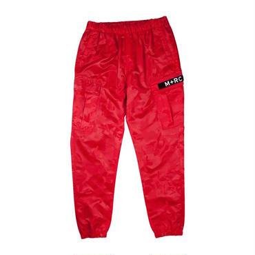 M+RC NOIR  RED EOM CARGO CAMO TRACK PANT