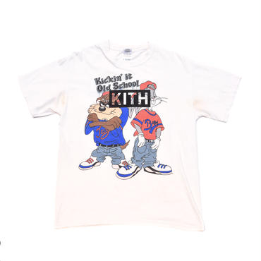 KITH VINTAGE LOGO T-SHIRT / OLD SCHOOL / WHITE
