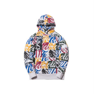 Kith x Coca-Cola Cubed Global Hoodie / MULTI